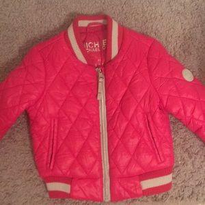 Toddler Michael Kors bomber jacket
